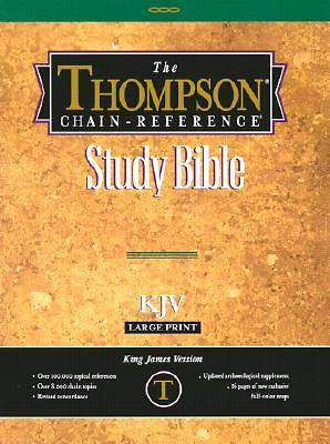 Bible KJV Thompson Chain Reference Study Large Print