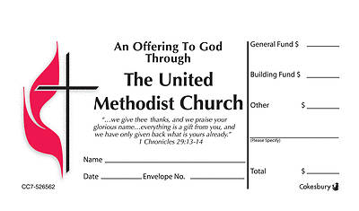 Three Funds UMC Offering Envelope Box Set Regular
