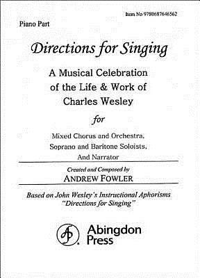 Directions for Singing - Piano