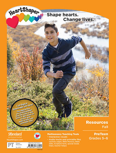HeartShaper PreTeen Resources Fall