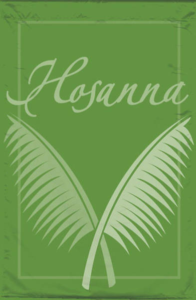 Hosanna Easter Season Services Banner
