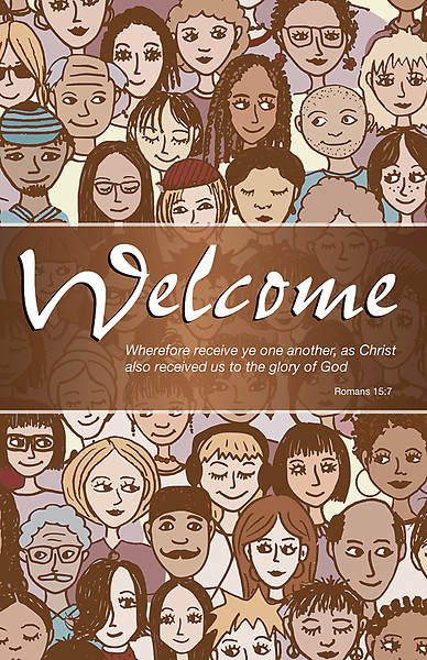 Welcome Bulletin - Pack of 100