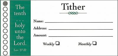Picture of Offering Envelope Tithers