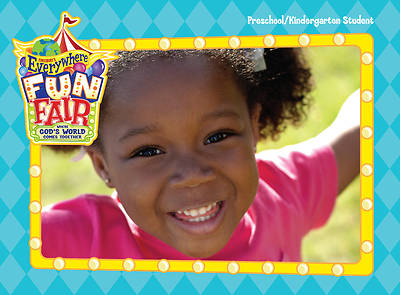 Vacation Bible School 2013 Everywhere Fun Fair Preschool/Kindergarten Student Book VBS
