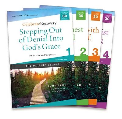 Picture of Celebrate Recovery Updated Participant's Guide Set, Volumes 1-4