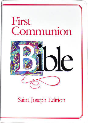 Picture of Bible NAB First Communion Saint Joseph