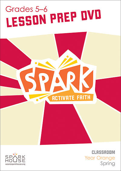 Picture of Spark Classroom Grades 5-6 Preparation DVD Year Orange Spring