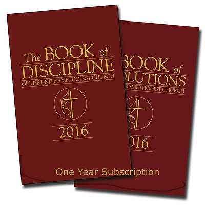 Picture of The Book of Discipline & The Book of Resolutions of the United Methodist Church Online Subscription 1 Year