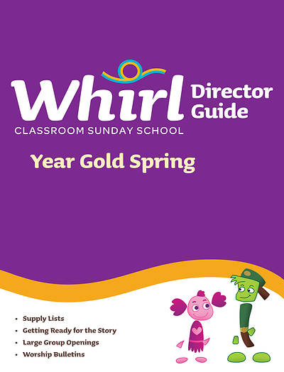Picture of Whirl Classroom Director Guide Year Gold Spring