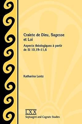 Picture of Crainte de Dieu, Sagesse et Loi