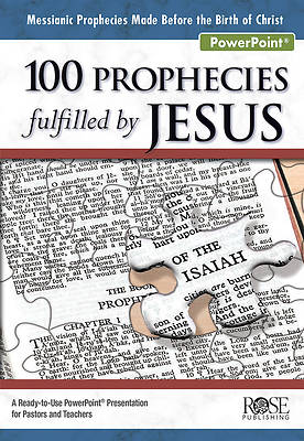Picture of 100 Prophecies Fulfilled by Jesus