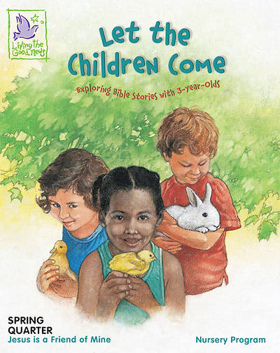 Let the Children Come Spring Childs Booklet