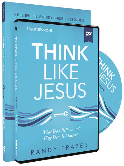 Picture of Think Like Jesus Study Guide with DVD