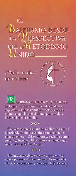 Picture of El Bautismo desde la perspectiva del Metodismo Unido - folleto electronico
