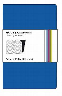 Notebook Moleskine Volant Ruled Blue Extra Small