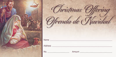 Picture of Shall Find Baby Christmas Offering Envelope SPANISH