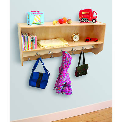 Picture of Whitney Brothers WB1056 Double Row Wall Mount Coat Rack
