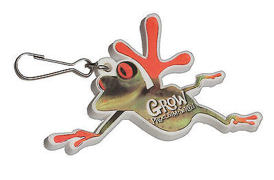 Grow, Proclaim, Serve! Frog Zipper Pull