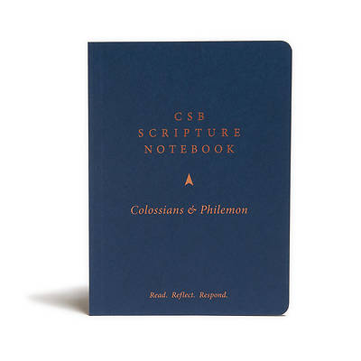 Picture of CSB Scripture Notebook, Colossians and Philemon