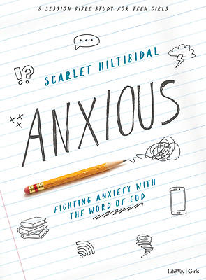 Picture of Anxious - Teen Girls' Bible Study Book