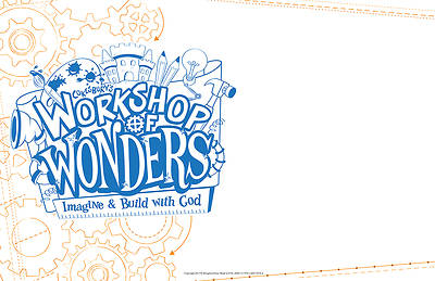 Vacation Bible School (VBS) 2014 Workshop of Wonders Small Outdoor Sign
