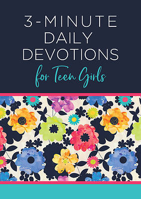 Picture of 3-Minute Daily Devotions for Teen Girls