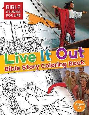 Picture of Live It Out Bible Story Coloring Book