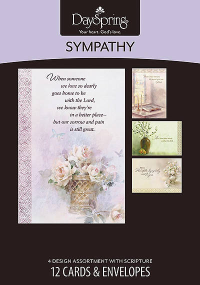 Comfort and Peace - Sympathy Boxed Cards - Box of 12
