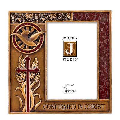 "Picture of 7.5"" Vertical Frame - Bronze/Burgandy Joseph Studio Confirmation"