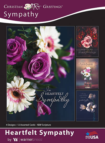 Picture of Heartful Sympathy Sympathy Boxed Cards (Box of 12)