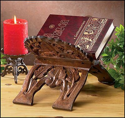 Picture of Hand-Carved Bible/Missal Stand