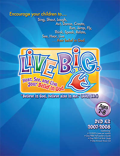 Picture of Live B.I.G. DVD Kit Ages 7-8 2007-2008