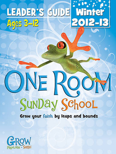 One Room Sunday School Leaders Guide Winter 2012-13