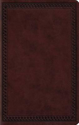 Large Print Compact Bible-ESV-Border Design