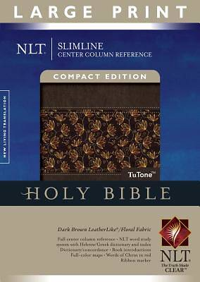 Bible NLT Slimline Center Column Reference