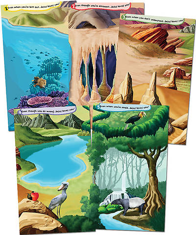 Group VBS 2014 Weird Animals God Sightings Giant Posters Set of 5