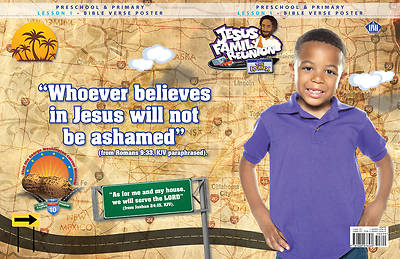UMI VBS 2013 Jesus Family Reunion: The Remix Bible Verse Poster Pre/Pri