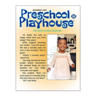Picture of UMI Preschool Playhouse Student Winter 2019-2020