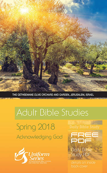 Adult Bible Studies Spring 2018 Student
