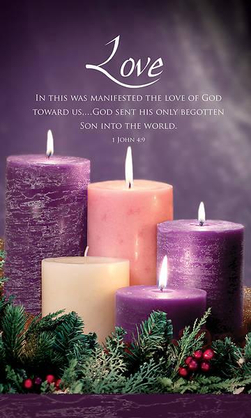 Picture of Advent Week 4 3' x 5' Vinyl Banner 1 John 4:9