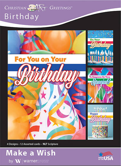 Make a Wish Birthday Boxed Cards