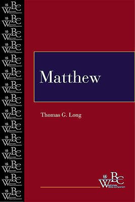 Westminster Bible Companion - Matthew