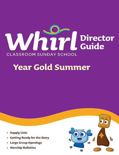 Picture of Whirl Classroom Director Guide Year Gold Summer