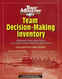 50-Pack Team Decision-Making Inventory