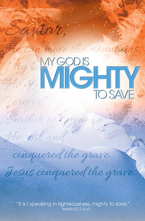 My God Is Mighty To Save General Bulletin