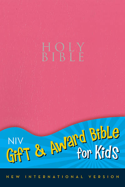 Gift and Award Bible for Kids NIV (Pink Imitation Leather)
