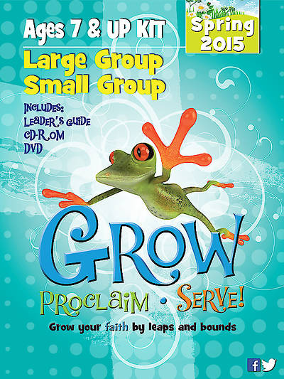 Picture of Grow, Proclaim, Serve! Large Group/Small Group Ages 7 & Up Kit Spring 2015