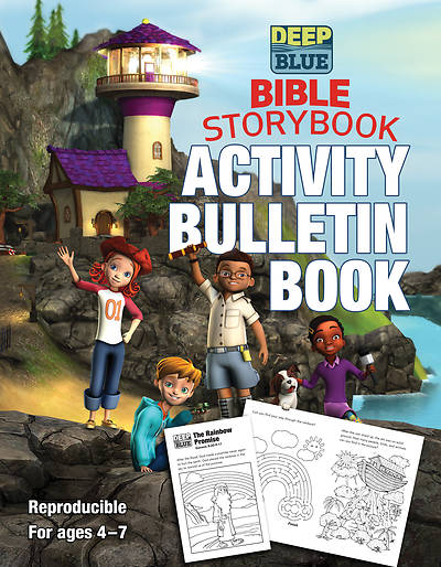 Picture of Deep Blue Bible Storybook Activity Bulletin Book