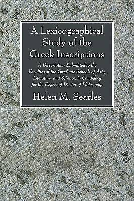 A   Lexicographical Study of the Greek Inscription