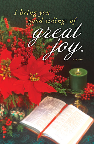 Picture of Great Joy Christmas Regular Size Bulletin